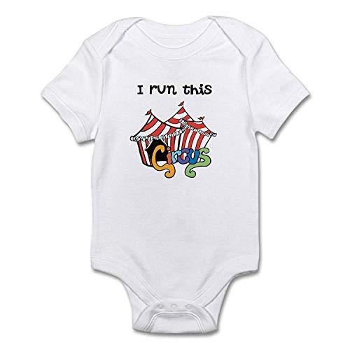 I Run This Circus Onesie Novelty Infant Bodysuit One-Piece Bodysuits ()