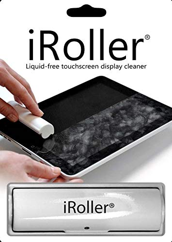Iclean Display Kit Cleaning - SKT Productions iRoller Screen Cleaner: Reusable Liquid Free Touchscreen Cleaner for Smartphones and Tablets - Immediately Cleans - Easy to Use and Effective on Any Touch Screen