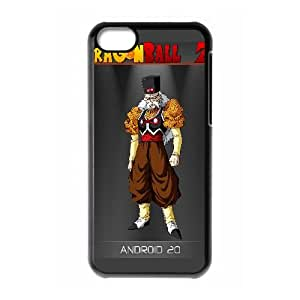 Android Dragon Ball Z Anime iPhone 5c Cell Phone Case Black yyfabb-143724