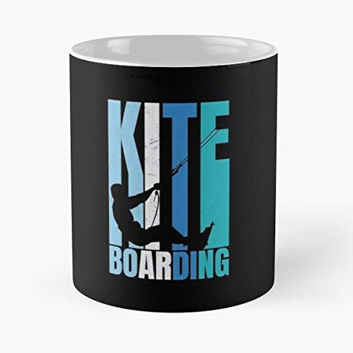Kiteboard Kiteboarding Kitesurfen Kitesurfer The Best Gift For Holidays Coffee Mugs