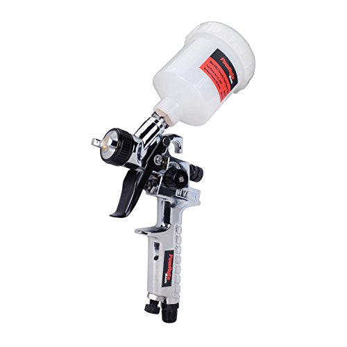 PowRyte Basic 4.2 Oz Mini HVLP Gravity Feed Air Spray Gun