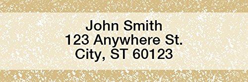 Parchment Rectangle Address Labels (144 Labels)