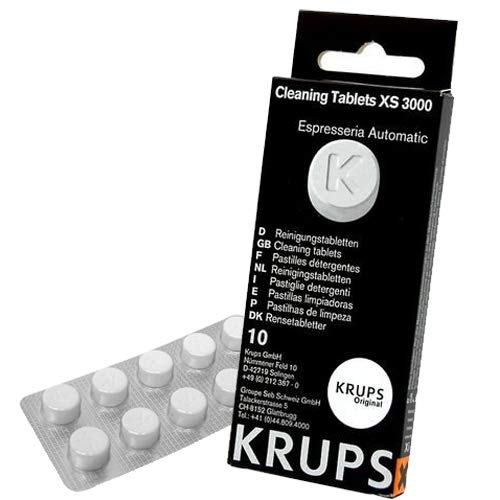 Krups XS300010 Pastillas limpiadoras para máquinas de café súper ...