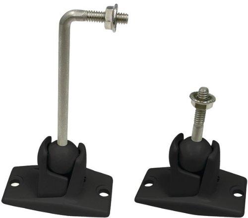Omnimount - Stainless Steel Universal 10-lb Speaker Wall/Ceiling Mount Kit