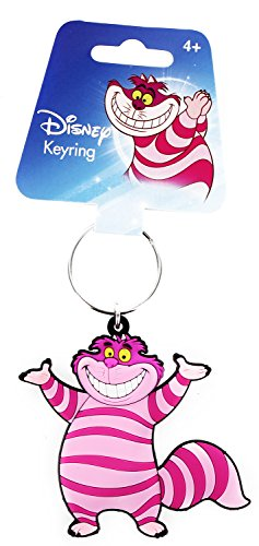 Cheshire Cat Standing - Alice In Wonderland Disney - Rubber Keychain