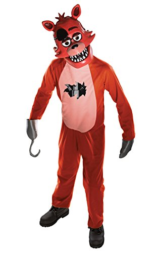 Rubies Five Nights Childs Value Priced At Freddys Foxy Costume  Large