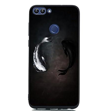 Bling Glitzer Transparent weich H/ülle f/ür Huawei P Smart 2019 //Honor 10 Lite,Kreative Klar Durchsichtiges Flexible Sparkle Quicksand R/ückseite Case Cover Besch/ützer Haut Schale Schutzh/ülle
