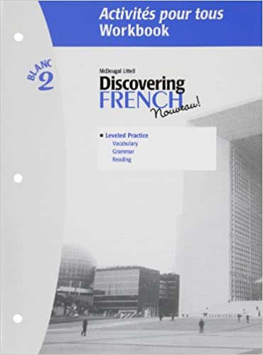 Discovering French, Nouveau!: Activites pour tous with Lesson Review Bookmarks Level 2