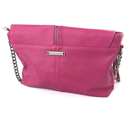 Bag designer 'Lulu Castagnette'fucsia - 35x20x10 cm.