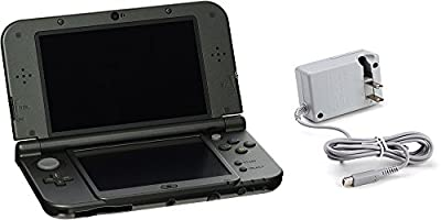 Nintendo 3DS XL Bundle (2 Items): Nintendo New 3DS XL - Black, and an AC Adapter