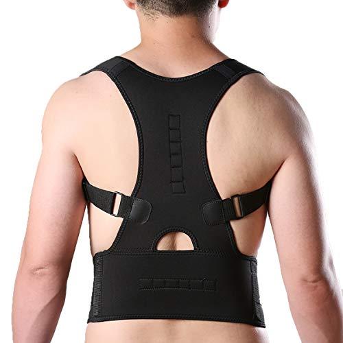 KIWI RATA Hot Magnetic Posture Back Shoulder Corrector Support Brace Belt Therapy Adjustable