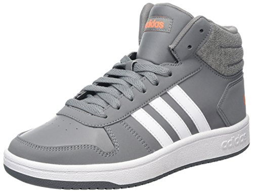 0 Ftwbla Naalre adidas Gritre Unisex Mid Fitnessschuhe 000 Kinder Grau Hoops 2 1wSC6Xqw
