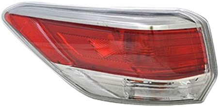 TO2804120 TO2805120 Tail Lights Lamps Set of 2 New Right-and-Left Outer Pair