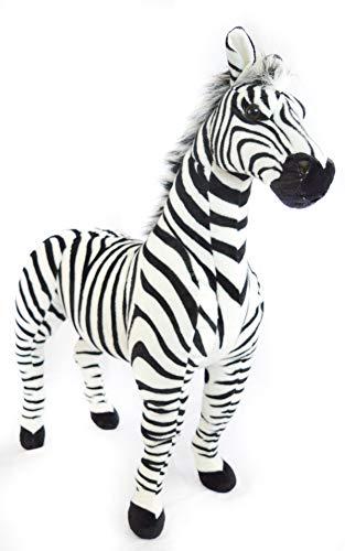- VIAHART Zelassie The Zebra   3 Foot Big Stuffed Animal Plush Zebra Horse Pony   Shipping from Texas   by Tiger Tale Toys
