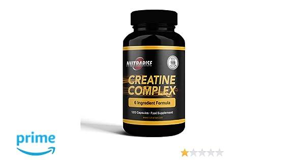 Creatina - Monohidrato de Creatina con Magnesio, Zinc, Vitamina B6 ...