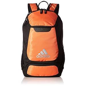 adidas Stadium Team Backpack, One Size, Orange