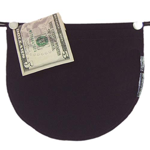 Chemisettes by Anne Bra Pocket Travel Wallet Cleavage Cover Cami Black Size D