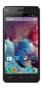 "Wiko Highway 9211 - Smartphone libre (pantalla 5"", cámara 16 Mp, 16 GB, 2 GHz, 2 GB RAM, Android 4.2), negro"