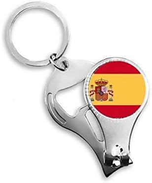 España Nacional bandera Europa país símbolo patrón Metal clave ...