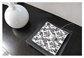 Large Product Image of Ikea Napkin Holder, Black