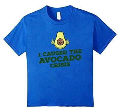 I Caused The Avocado Crisis T-shirt - Funny Paleo T-shirt