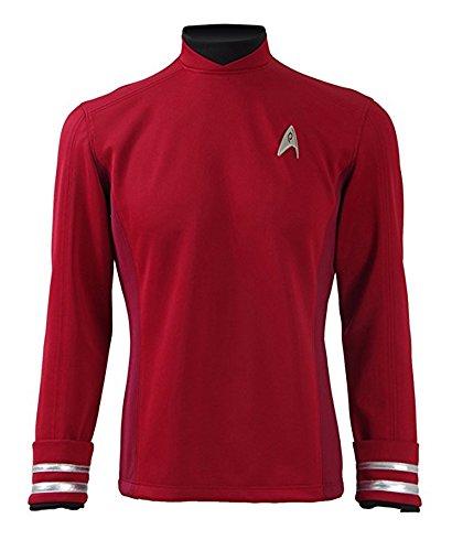 Fancycosplay Mens Cosplay Costume Halloween Shirt Red (Custom made)