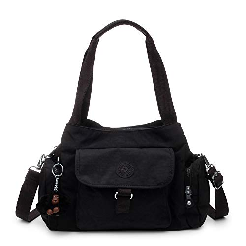 Kipling Felix Large Handbag Black Tonal
