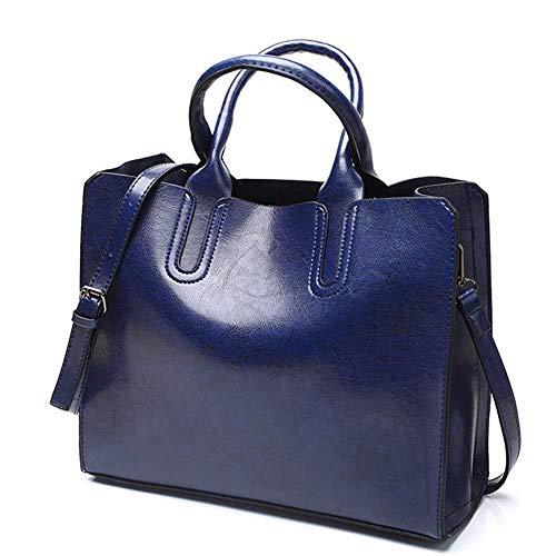 Femme Capacité À 33 Multifonctionnel Size Pour De Sac Grande Shatanq 28cm 13 Bleu Bandoulière Homme Xxq54ZwX0