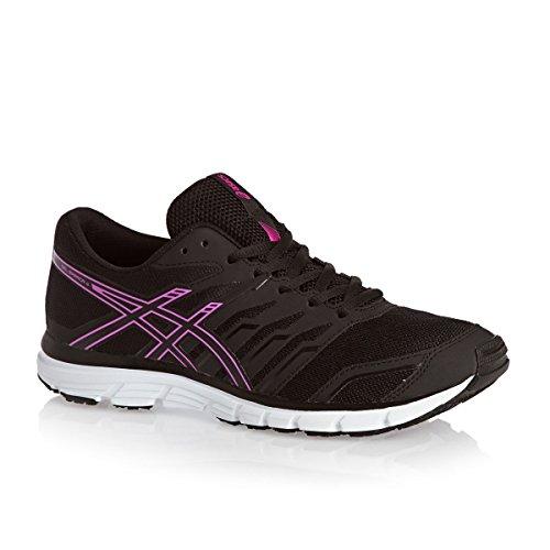 Black Gel Asics 4 Zaraca Onyx Women's Glow Running Shoes Pink PdxAxqHYw