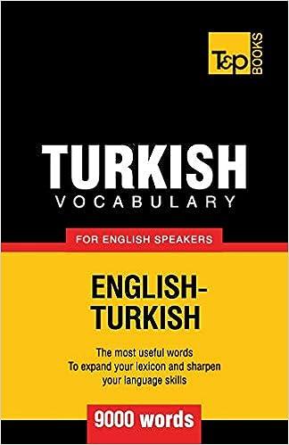 English Turkish Dictionary Pdf