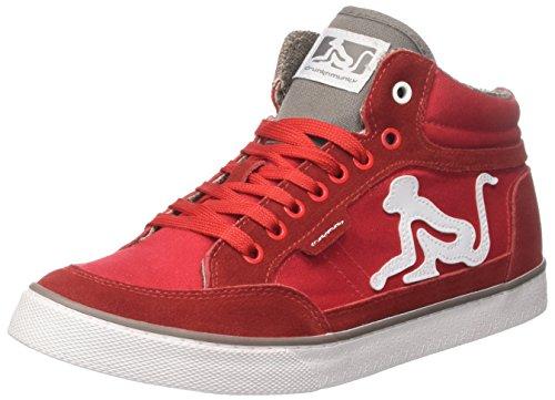 Redgray Classic DrunknMunky Rosso Collo Uomo Sneaker a Boston Alto AFaxwZvTq