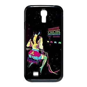 Samsung Galaxy S4 9500 Cell Phone Case Black_Atari Colors Kjovi