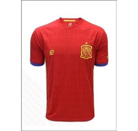 Real Federación Española de Fútbol Camiseta Oficial Selección Española (Talla S): Amazon.es: Deportes y aire libre