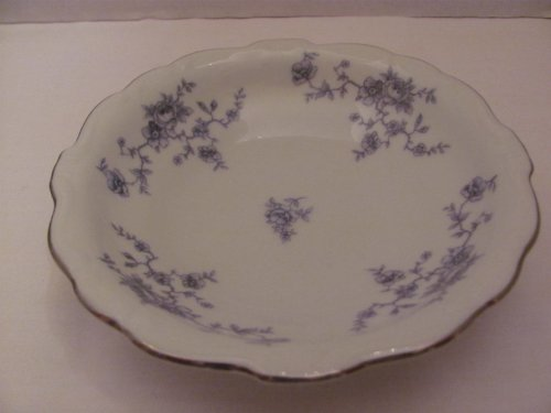 "Vintage - BLUE GARLAND - Fruit / Dessert (Sauce) BOWL (approx. 5 1/8"" in Diameter) - by JOHANN HAVILAND (Made in Bavaria / Germany)"