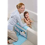 AQUATOPIA, Safety Bath-Time Cushioned Easy Kneeler & Detachable Elbow Rest, Blue