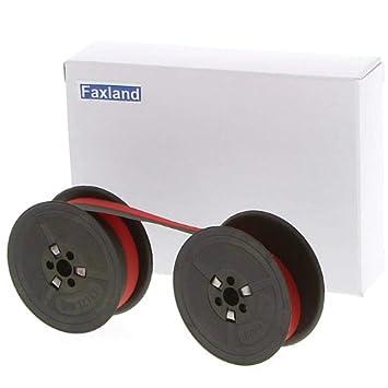 Farbbandfabrik - Cinta de color rojo para Olympia CP 140, compatible marca Fax País: Amazon.es: Oficina y papelería