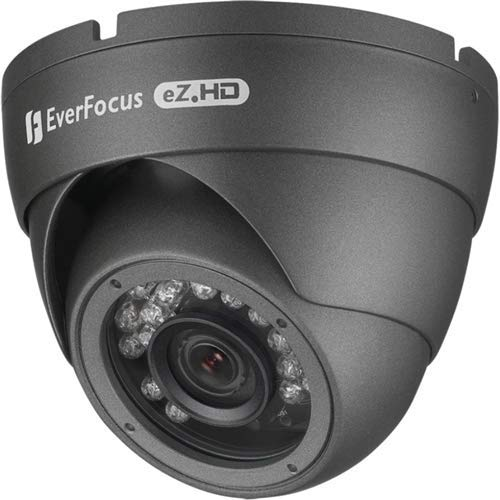 Everfocus EBD930F, AHD 2MP, 3.6MM, IR Ball Dome, Coax BNC Connection 1080P/720P/960H/ IP66 - Everfocus Digital Camera