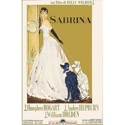 Sabrina Movie Poster Audrey Hepburn 4 Masterposter Print 11x17