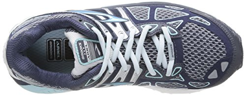 Silver Brooks Brooks Breeze Womens 14 Womens Shoe Running Ariel Midnight 47vxaqT