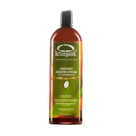 KERATIN ORGANIC TREATMENT - ULTRA QUATERNIZED KERATIN SYSTEM 32oz by KERARGANIC