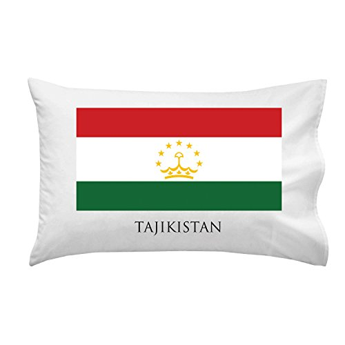 Tajikistan - World Country National Flags - Pillow Case Single Pillowcase