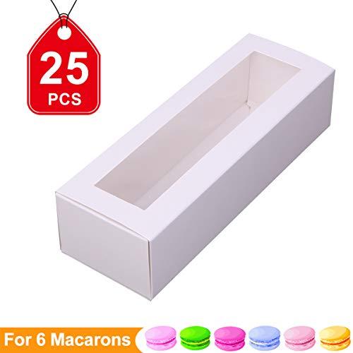 Cajas de Macaron francés Macaron caja caja de galletas de macarrón de macarons panadería Caja Macarons embalaje cajas con...