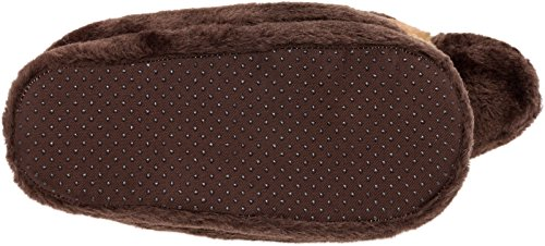 Silver Lilly German Shepherd Slippers - Plush Dog Slippers w/Platform by (Brown/Tan/Black, Medium) by Silver Lilly (Image #5)
