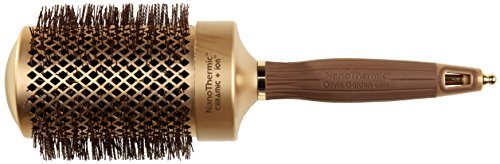 Olivia Garden NanoThermic Ceramic + Ion Round Thermal Hair Brush NT-64 (2 ()