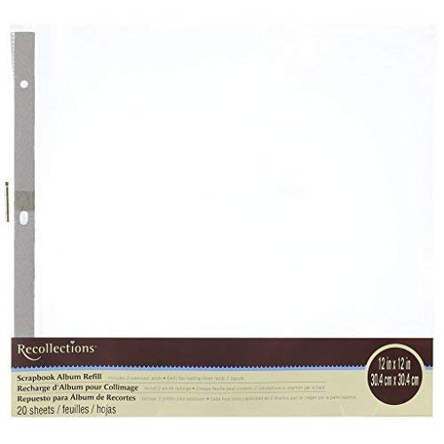 (Scrapbook Album Refill Value Pack By Recollections (1) )