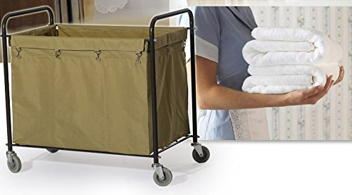 Commercial Laundry Cart, H 37.6'' x W 21.8'' x L 35.8'' by Farag Janitorial (Image #6)