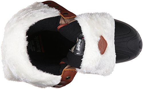 Kamik Women's Harper Snow Boot, Grey Khaki/Taupe