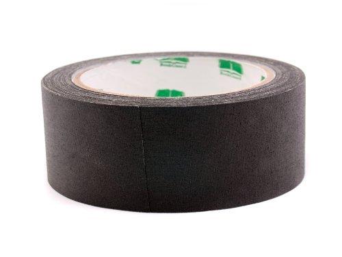 1-1/2'' Black Premium-Cloth Book Binding Repair Tape | 15 Yard Roll (BookGuard Brand)