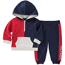 Tommy Hilfiger Baby Boys 2 Pieces Hoodie Pants Set