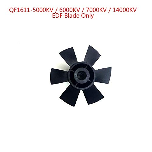 Kamas 6 Blades of 30mm EDF Electric Ducted Fan Without Motor Set Fit for DIY Drone Accessories Parts Wholesale ()